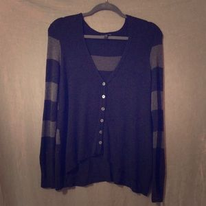 Eileen Fisher Striped Cardigan XS Used condition